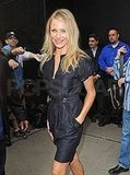 Cameron Diaz at Good Morning America