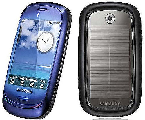 Samsung Blue Earth Cell 