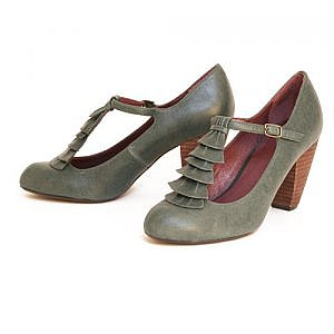 Pink Studio Valonia t-strap shoes - $56.99 : ShopRuche.com, Vintage Inspired Clothing, Affordable Clothes, Eco friendly Fashion