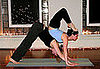 Partner Yoga Pose: Down Dog Scorpion