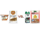 Yogurt and Granola vs. Cereal and Milk