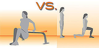 Triceps Dips vs. Lunges