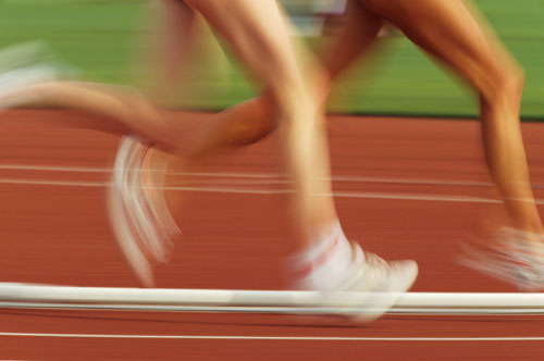 Run in Circles: Sprint Intervals at the Track