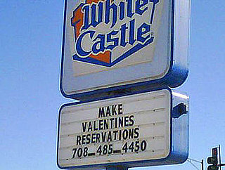 It's a White Castle Valentine's Day!