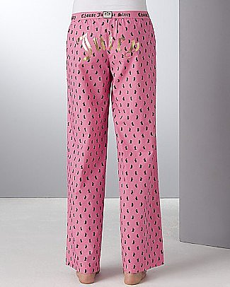"Juicy Couture ""Scottie Dog"" Cotton PJ Pants - Women's - Bloomingdales.com"