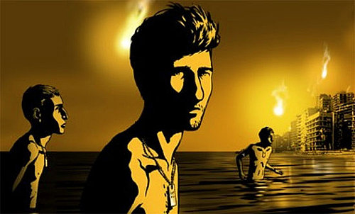 Trailer for Waltz with Bashir