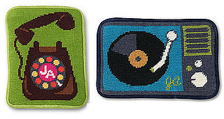 Jonathan Adler Gadget Cases Make Needlepoint Modern