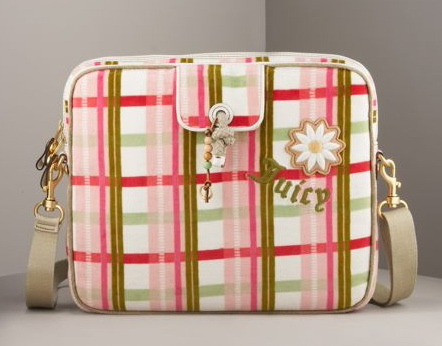 Plaid Laptop Bag