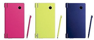 New Nintendo DSi Colors: Pink, Yellow and Blue