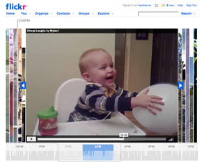 Flickr Users Get Video Uploading