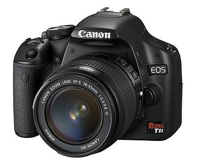 Canon Announces a New DSLR