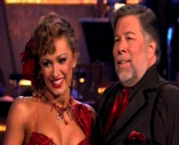 Steve Wozniak on Dancing With the Stars Week Four