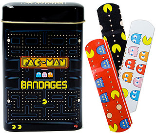 Pacman Bandages Available From Fred Flare With Collectible Tin