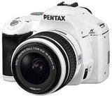 White Pentax K2000 DSLR