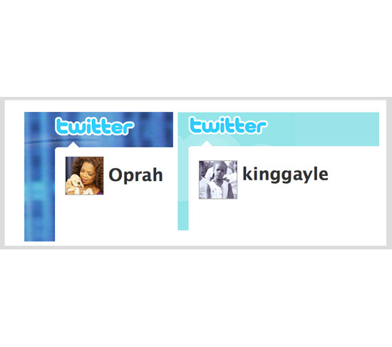 Follow Oprah on Twitter!