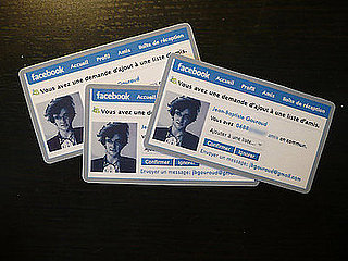 Facebook Friend Request Style Business Cards