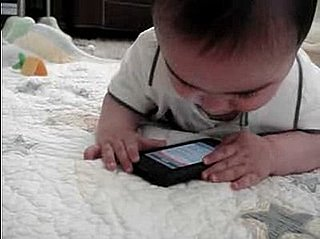 YouTube Video of Baby Who Cries When Mom Takes His iPhone Away