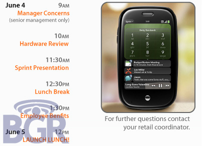 Daily Tech: Are the Palm Pre and New iPhone Launching the Same Week?
