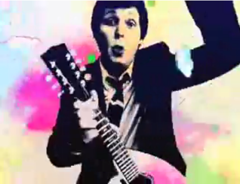 Paul McCartney Gets Down For an Apple Ad