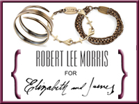 Win the Ultimate Bracelet Collection From Robert Lee Morris For Elizabeth and James
