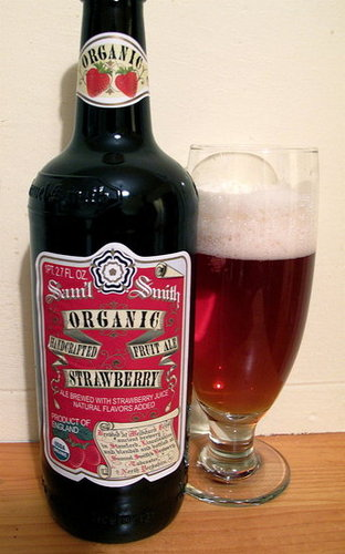 Happy Hour: Samuel Smith Strawberry Ale