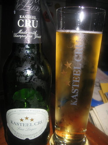 Happy Hour: Kasteel Cru Lager