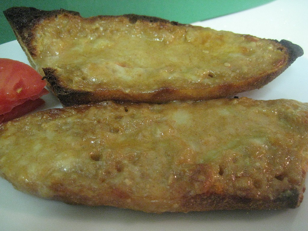 Beer Cheese on Toast