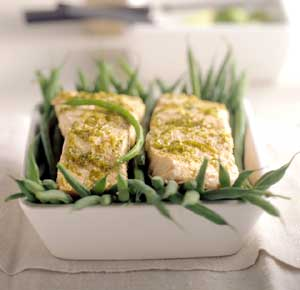 Fast & Easy Dinner: Lime-Steamed Salmon
