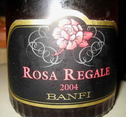 Review of Banfi Rosa Regale Brachetto 2004