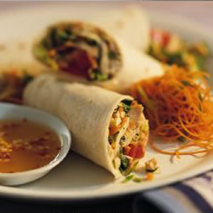 Fast & Easy Dinner: Chicken Salad Wraps