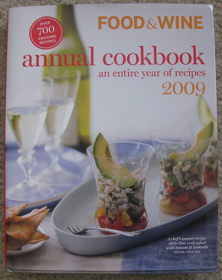 2009 Food & Wine Annual Cookbook