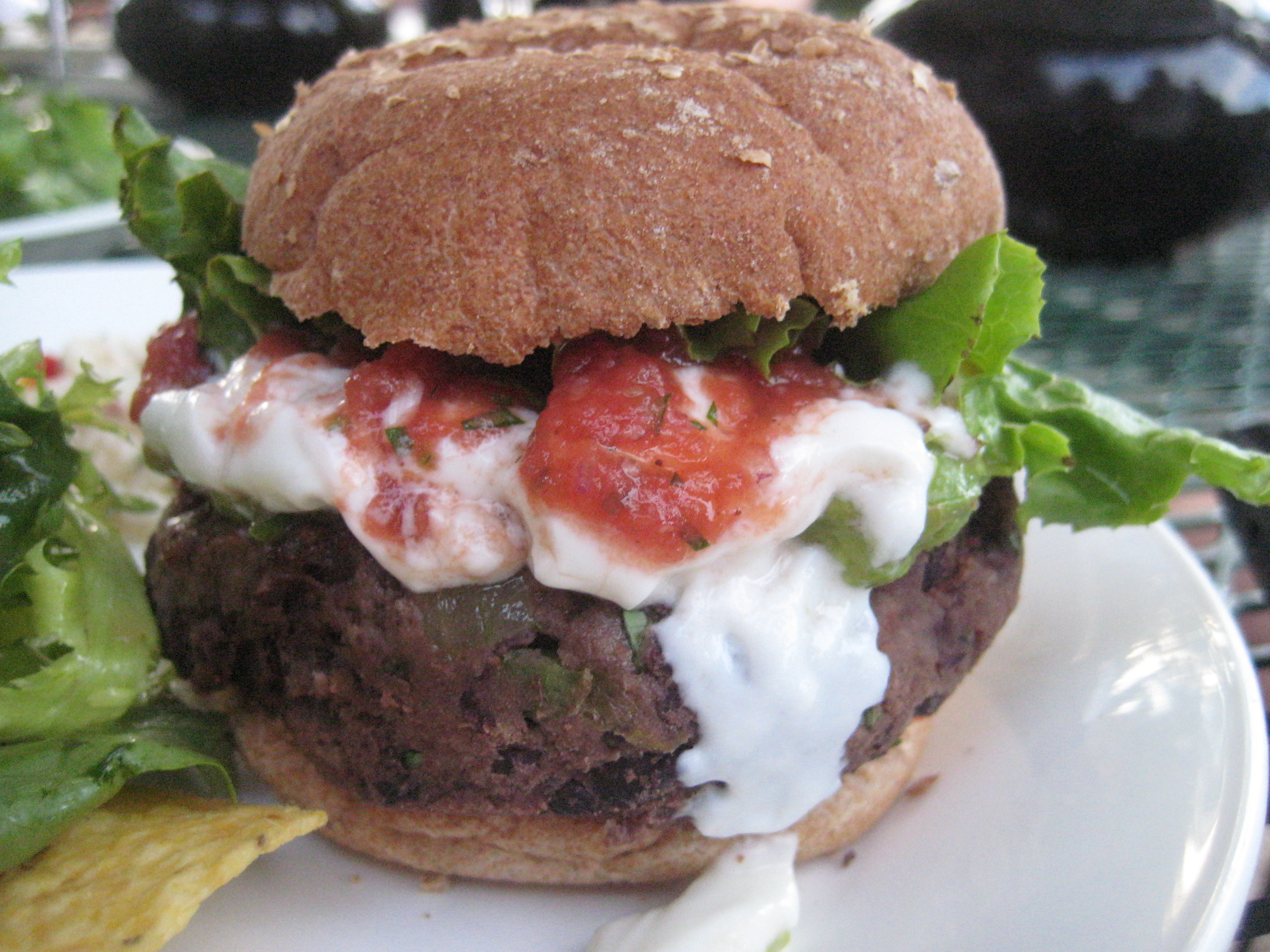 Black Bean Burger Recipe | POPSUGAR Food