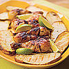 Fast &amp; Easy Dinner: Grilled Beer Chicken With Potato Slabs