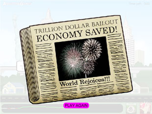 New Online Game Lets You Allocate $1 Trillion in Bailout Money