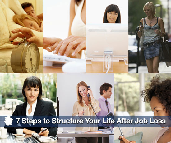 How To Create Structure After Losing Your Job