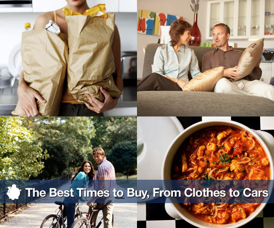 The Best Times to Buy, From Clothes to Cars