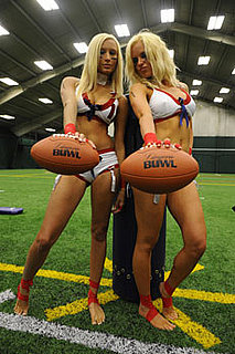 Photos of Lingerie Football League Tryouts