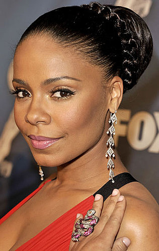 How To Fake Sanaa Lathan's Red Carpet NAACP Image Awards Hair