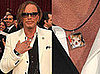 Mickey Rourke&#039;s Independent Spirit Awards Acceptance Speech and Necklace With Loki Charm