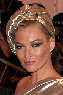 Kate Moss' Hair and Makeup at the Met's Costume Institute Gala