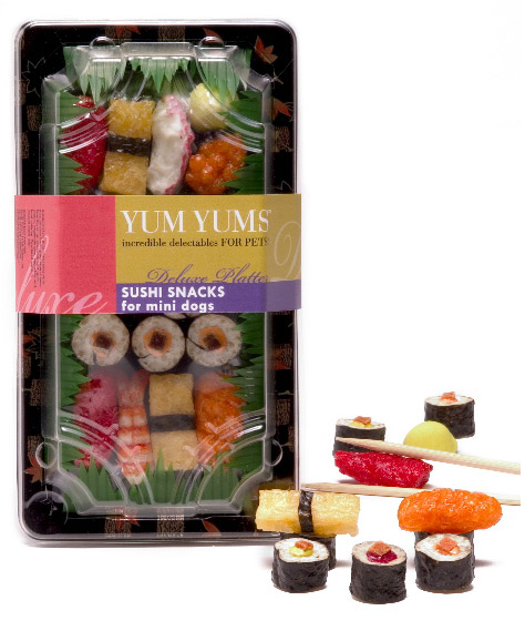 Yum Yums Sushi Sacks For Mini Dogs
