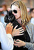 Ellen Pompeo Cuddles Her Poodle