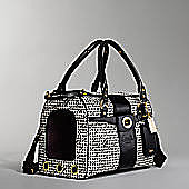 Coach Op Art Pet Carrier ($498)
