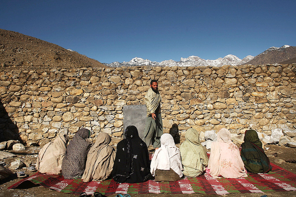 Female education has been severely compromised as a resurgent Taliban has practiced a policy of intimidation of female students.