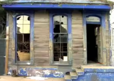 Love It or Hate It? Ravaged Katrina Homes Become Art