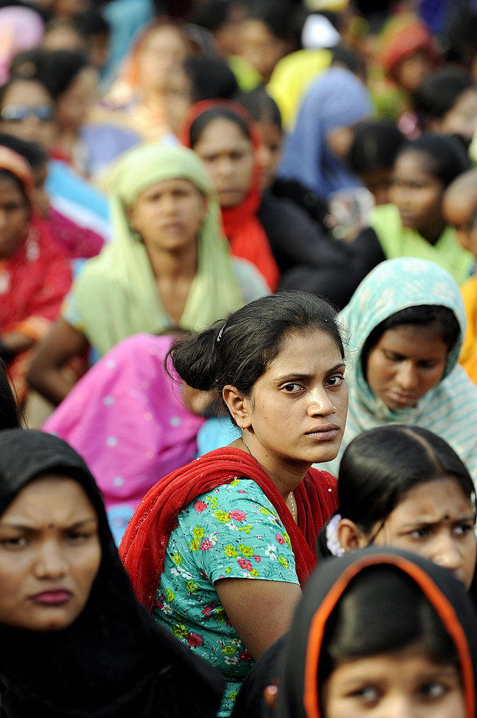 Bangladeshi Women Participate in a Rally