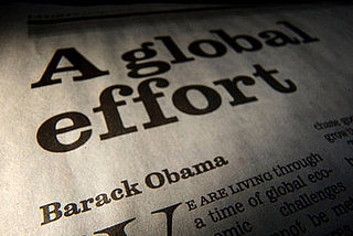 President Obama's Global Action: A Global Op-Ed