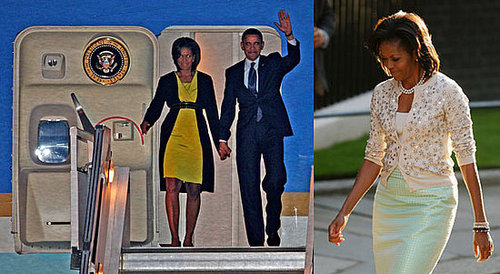 Photos of Michelle Obama in London for G20