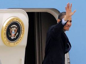 President Obama Makes Surprise Visit to Iraq