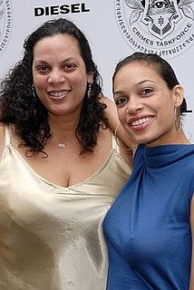 Rosario Dawson's Mom Gave Her a Licking